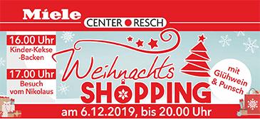 Miele Center Resch Weihnachtsshopping